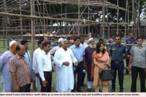 Kurigram PM Visit Preparation photo 19.08.17